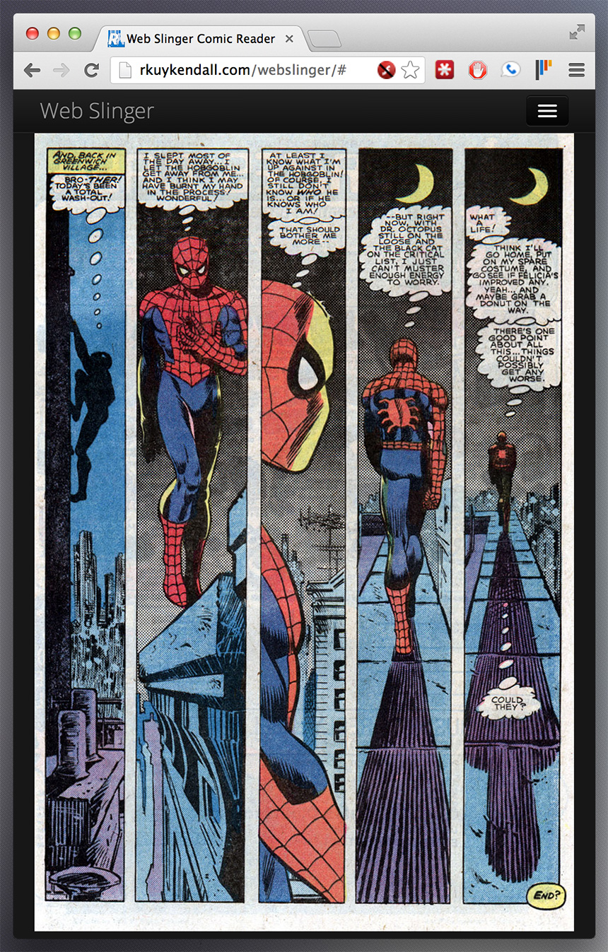 Building a comic book reader for the web - Robert Kuykendall